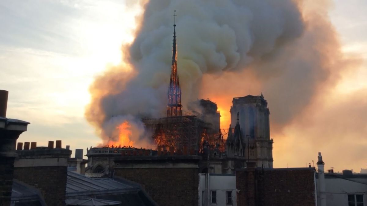 Almost $1 billion was promised by some of France's richest and most powerful families and companies, some of whom sought to outbid each other, in the hours and days after the inferno. (Source: CNN)