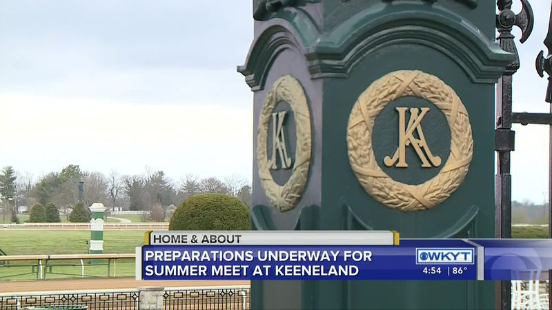 Home & About - Summer Meet at Keeneland (July 7, 2020)