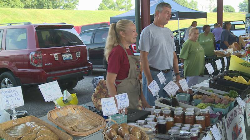 Governor Andy Beshear declared the first week of August 'Farmers Market Week'