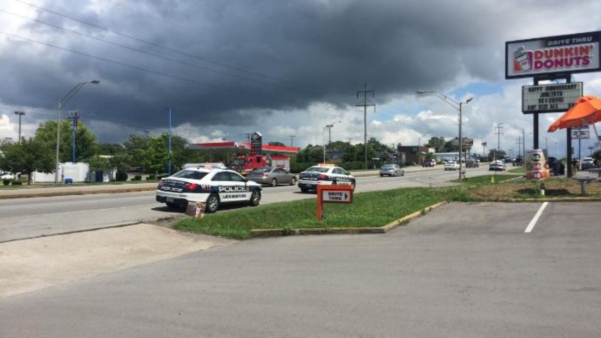 Police investigated the threatening calls along New Circle Road near the Bryan Station Road intersection back on June 20, 2018. (Photo: WKYT)