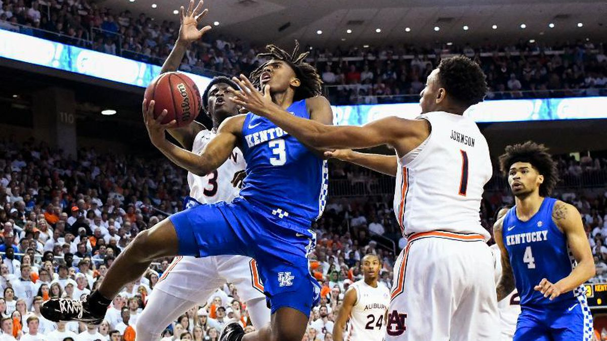 UK's Tyrese Maxey is heading to the NBA Draft (AP Photo/Julie Bennett)