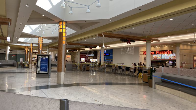 Fayette Mall has made some changes to keep its customers safe from the virus, including moving...