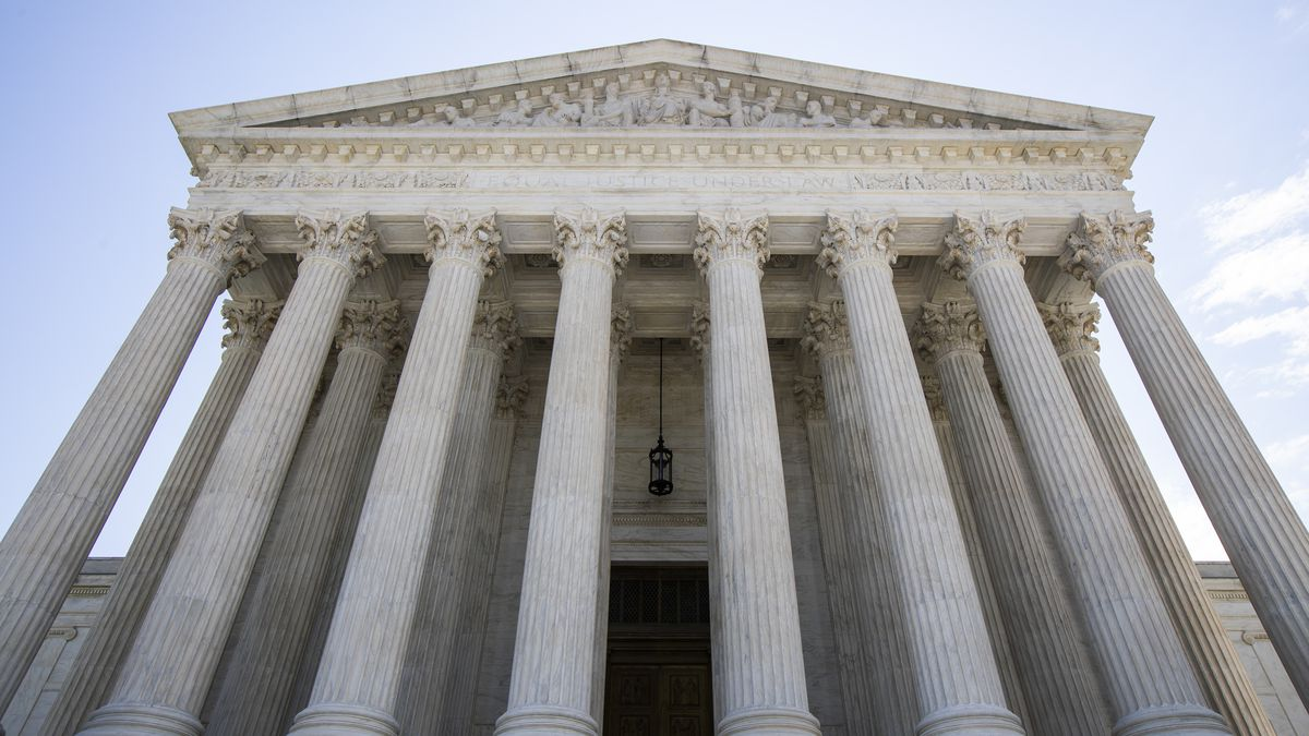 FILE - In this June 30, 2020 file photo, the U.S. Supreme Court is seen in Washington.