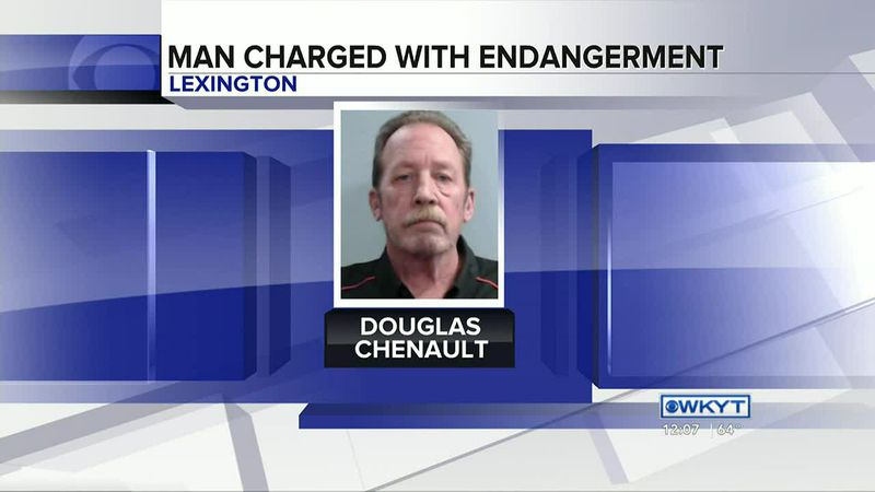 WATCH | Man charged with firing shots into Lexington home