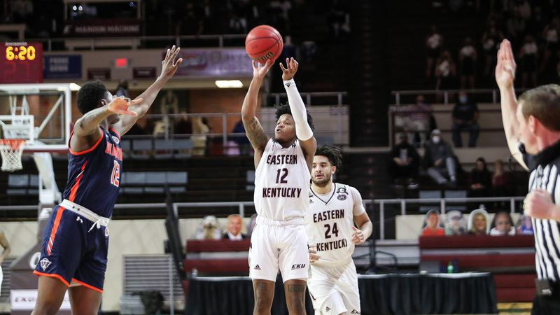 The Colonels (13-2, 7-1 OVC) hit on 20-of-37 three-point attempts
