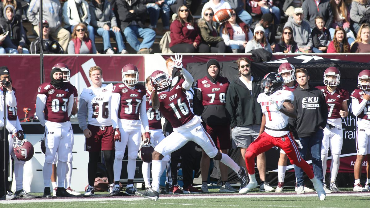 EKU football releases eight-game fall schedule