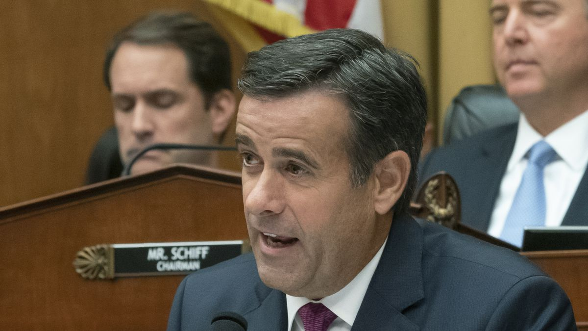 Trump tweeted Friday that Rep. John Ratcliffe (R-TX) is no longer the nominee for Director of Intelligence. (Source: AP)