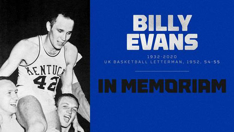 Former UK men's basketball player's jersey hangs in the Rupp Arena rafters