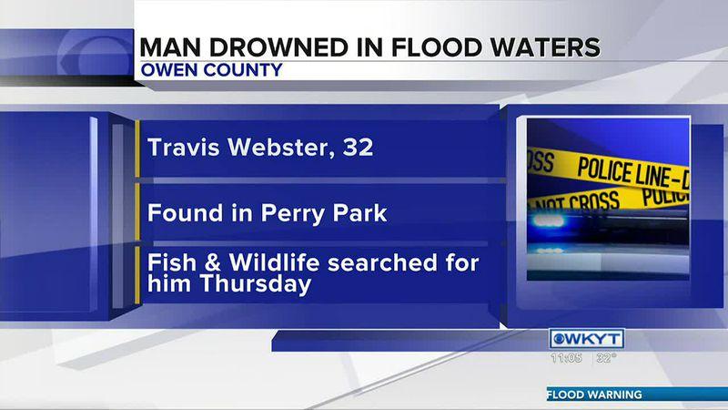 KSP: Kentucky man drowned in flood waters