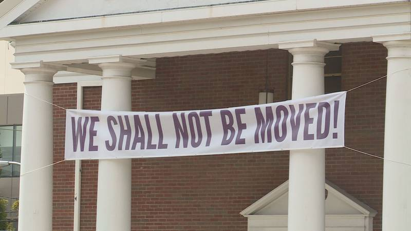 Main Street Baptist Church leaders say they want to stay where they are, but new city...