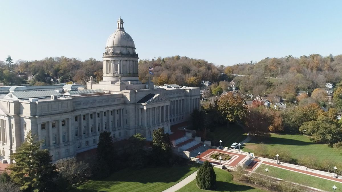 Governor-elect Andy Beshear's inauguration is set for Dec. 10 at the Capitol. (WKYT SkyEye)
