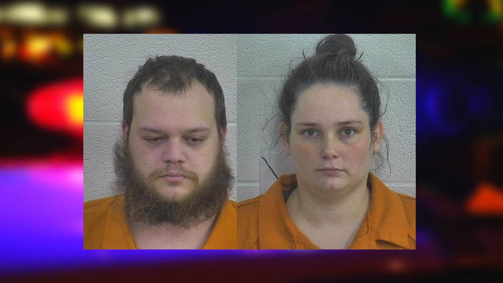 22-year-old Trevor Donald Collins and 27-year-old Jessica R. Odell were arrested Monday...
