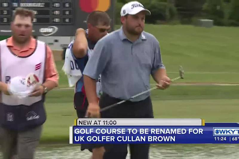 A Lyon County golf course will be dedicated to late University of Kentucky golfer Cullan Brown.