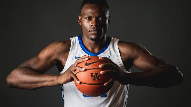 Oscar Tshiebwe was the star of the night with 25 points and 21 rebounds