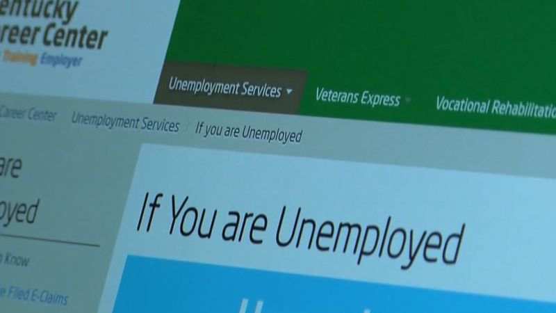 Online booking for Kentucky unemployment help now available.