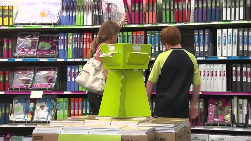 Better Business Bureau issues warning about online back-to-school shopping scams, as parents...