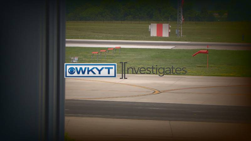 WKYT Investigates   Safety precautions in place ahead of Blue Grass Airport runway repave