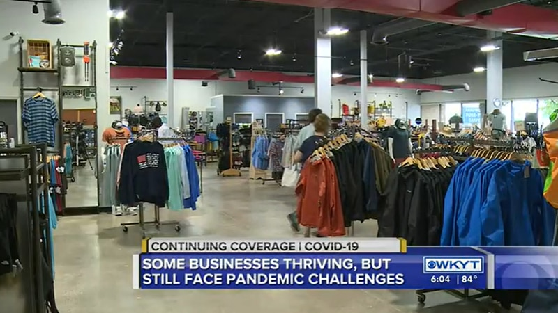 We found two stores in Lexington that are thriving, but that doesn't come without pandemic...