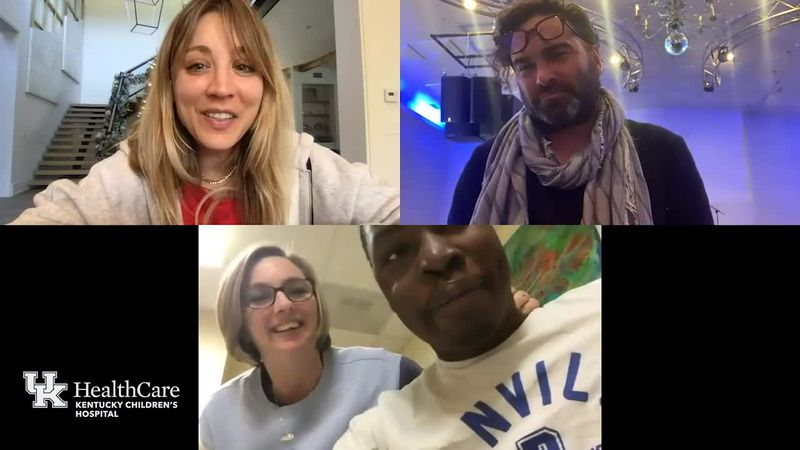 WATCH | Big Bang Theory stars Zoom with Kentucky Children's Hospital patients