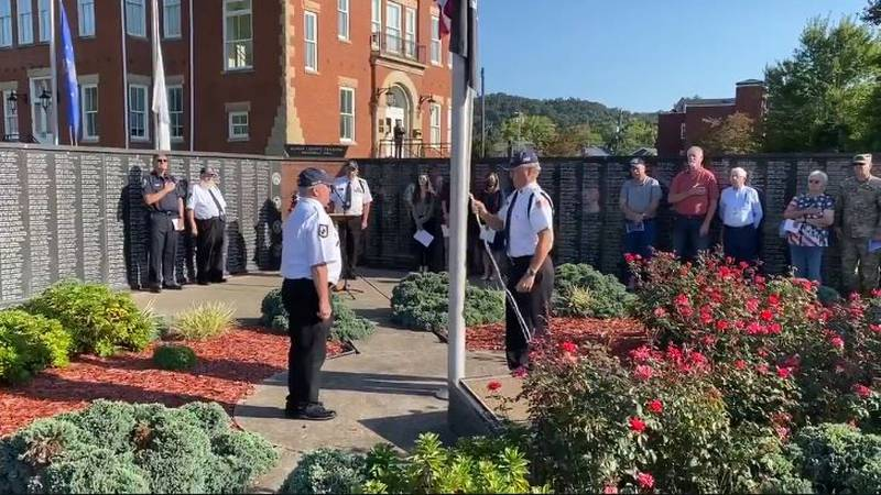 The Rowan County community gathered Friday morning to remember three fallen service members.