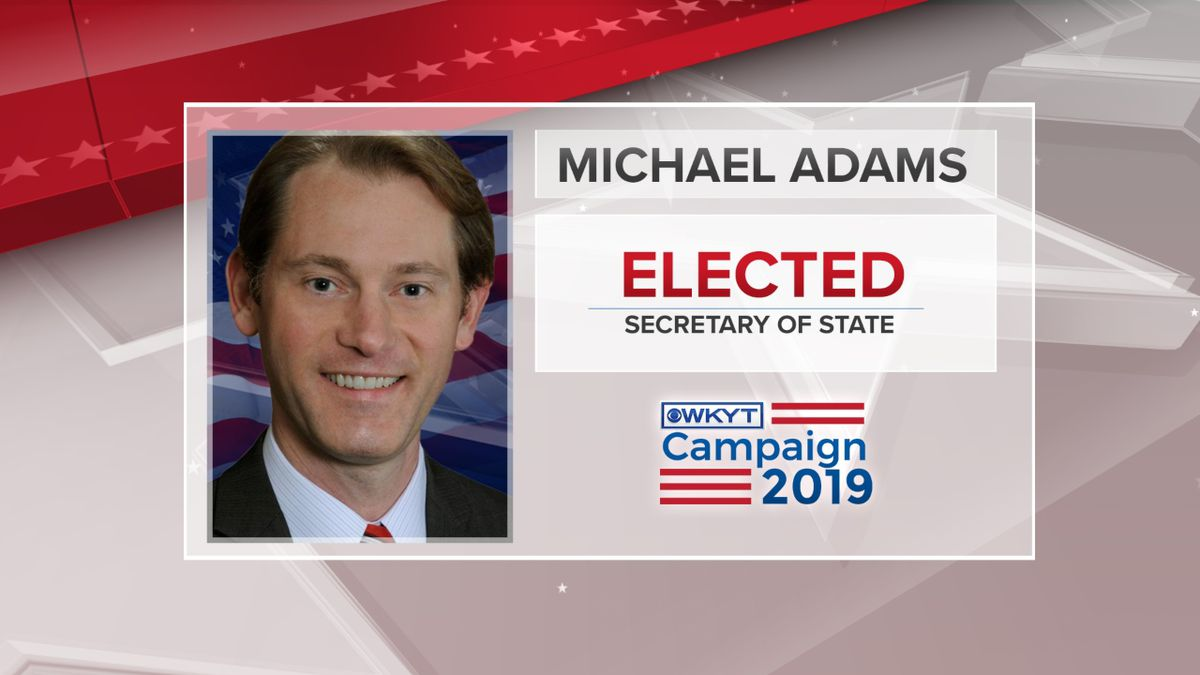 Michael Adams won against Democrat candidate Heather French Henry. (Photo: WKYT)