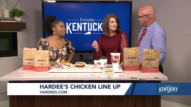 Martina Barksdale - Hardee's Chicken Sandwich