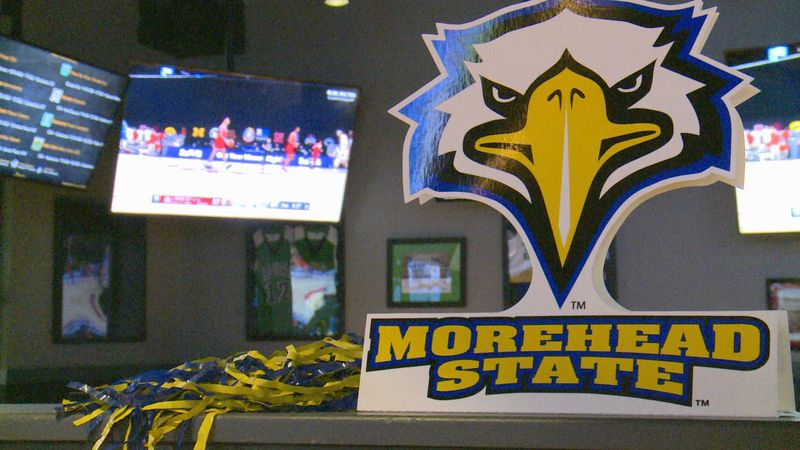 Fans filled the Buffalo Wild Wings in Morehead to watch the Selection Show.