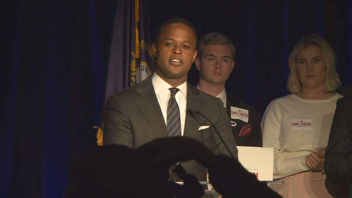 With Daniel Cameron's victory, he will become the first African American to serve as attorney general in Kentucky. (Photo: WKYT)