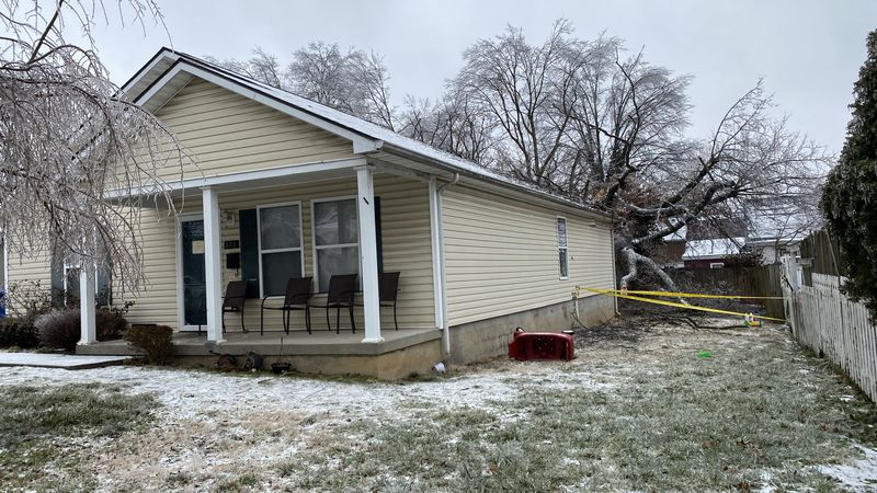A home at MLK and East 6th Street, near downtown Lexington, was condemned after one really big...