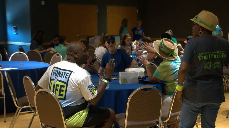 A local organization helping to find and procure organ donations for those in need gave...